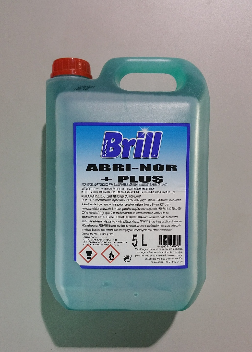 ABRILLANTNOR BRILL PLUS A.DUR. 5L