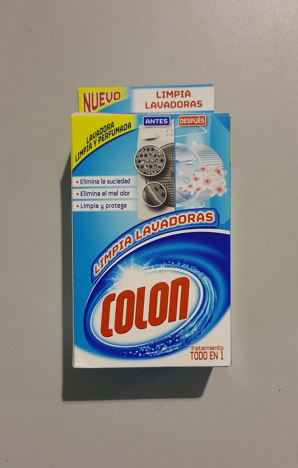LIMPIA LAVADORAS COLON BOT.250 ML
