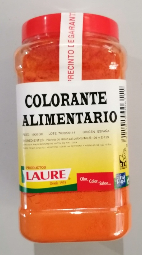 COLORANTE LAURE ALIMENTARIO 1000G.