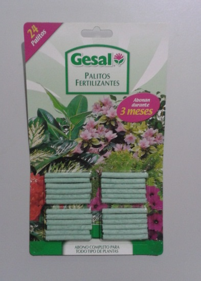 GESAL PALITOS FERTILIZANTES 24U.