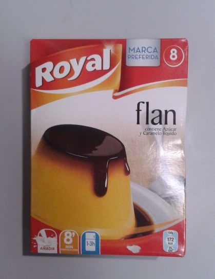 FLAN ROYAL C/AZUCAR DOBLE 8U