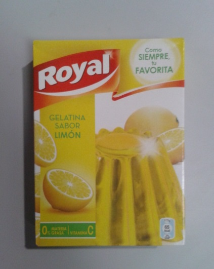 GELATINA ROYAL LIMON 170G.