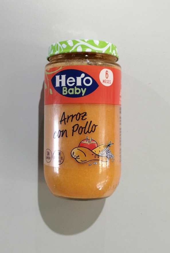 POTITOS HERO POLLO C/ARROZ 235 GR
