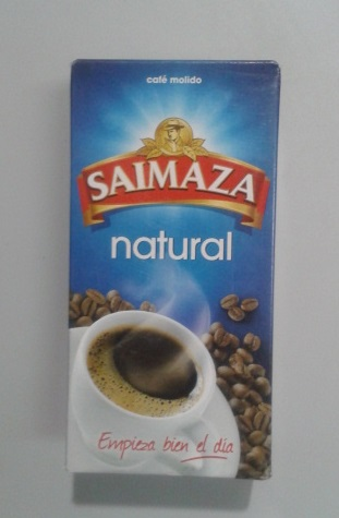 CAFE SAIMAZA MOLIDO NATURAL 250 G.