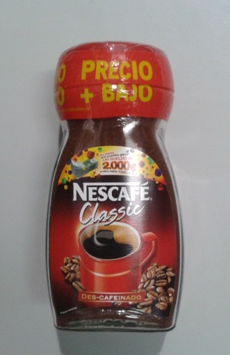 CAFE SOL.NESCAFE CLASSIC DESCAF.200
