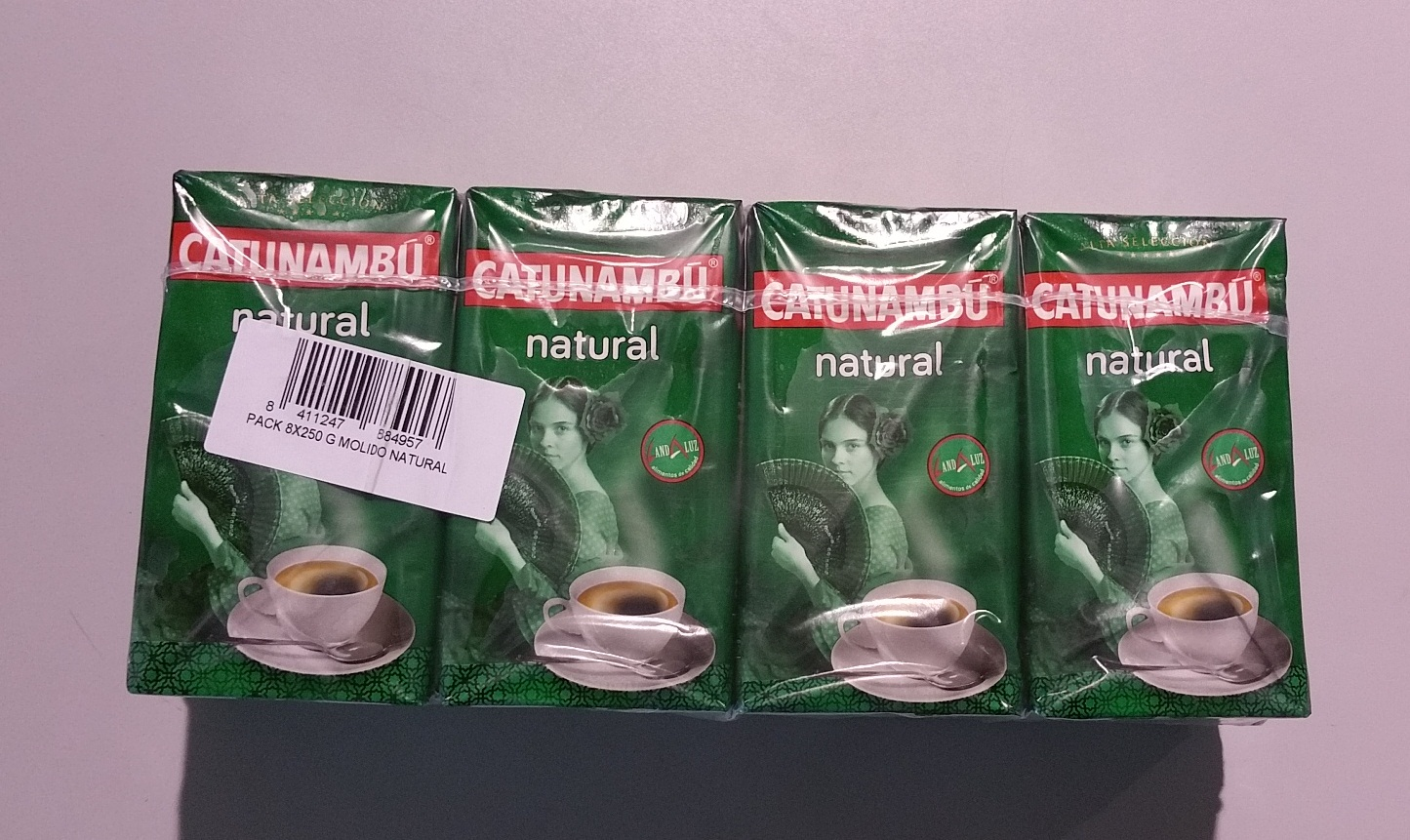 CAFE CATUNAMBU MOLIDO NATURAL 250G