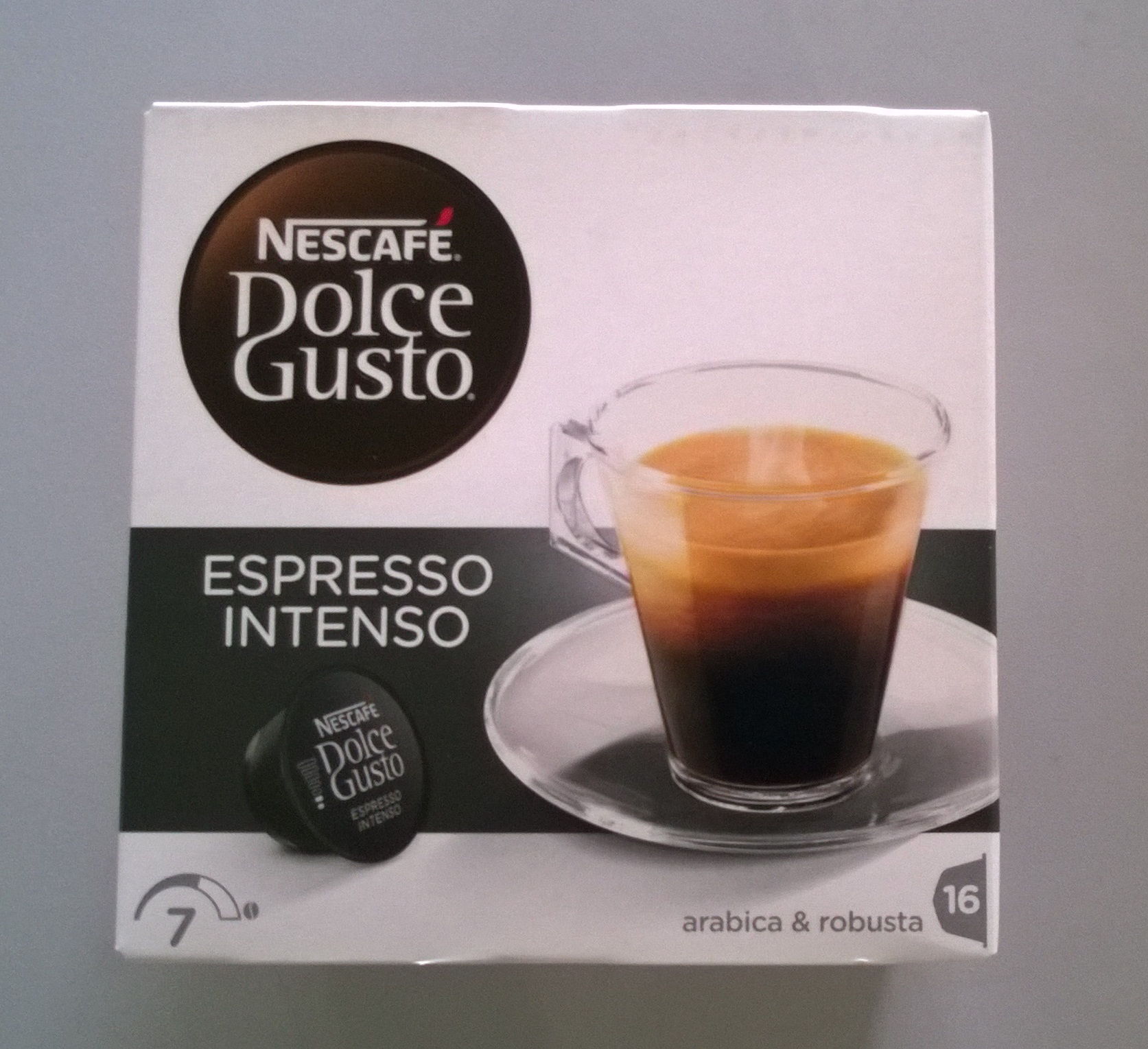 CAFE DOLCE GUSTO NESC.INTENSO 16 CAPS.