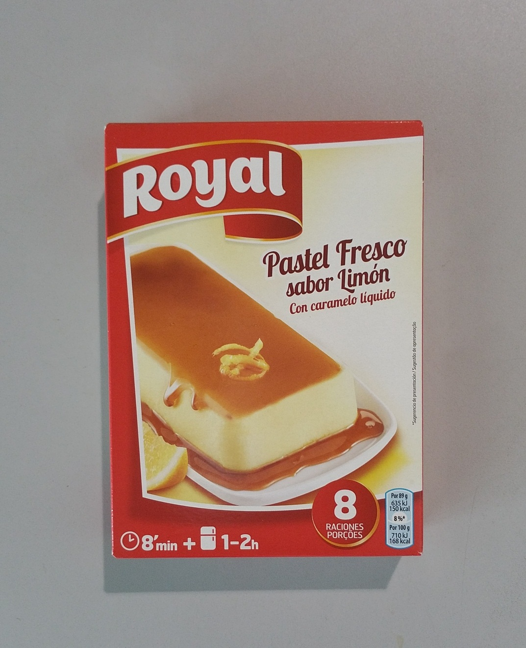 PASTEL ROYAL LIMON PAQ.103 GR